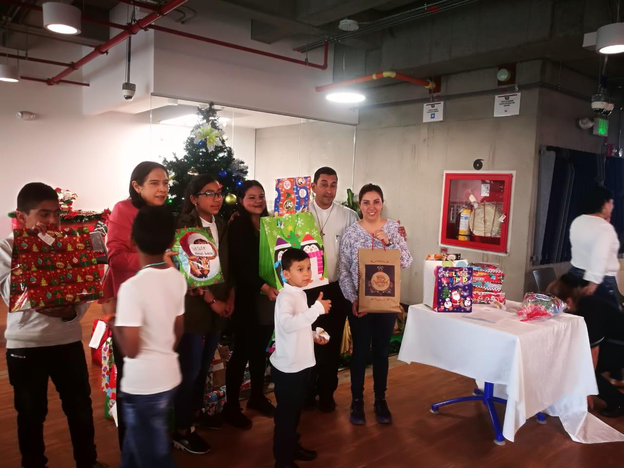 La empresa Super Vigilancia y Seguridad unidos esta navidad con la Fundación Fer El Buen Samaritano.