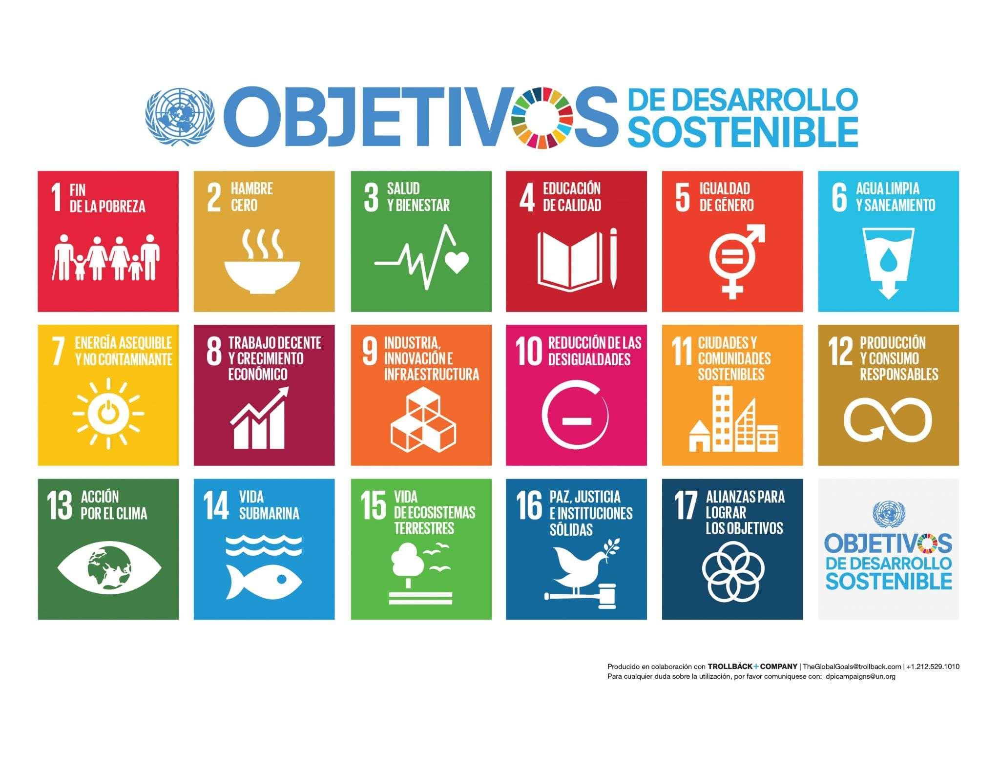 Comprometidos Los Objetivos de Desarrollo Sostenible (ODS)